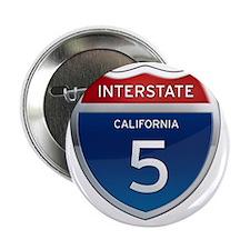 "Interstate 5 - California 2.25"" Button"