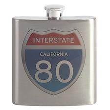 Interstate 80 - California Flask