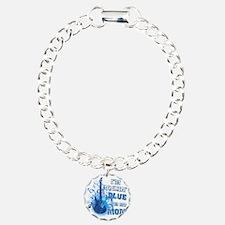 Im Rockin Blue for my Mo Bracelet