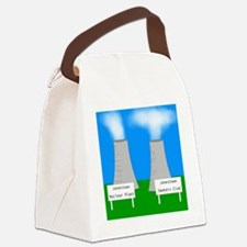 nuclear smoking Canvas Lunch Bag