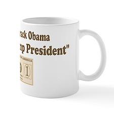 Food Stamp President 4 Small Small Mug