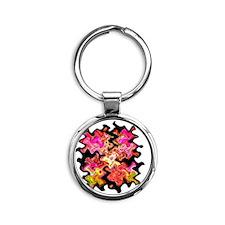 Celeste Round Keychain