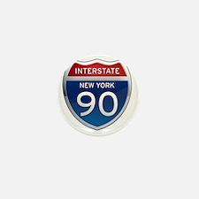 Interstate 90 - New York Mini Button