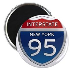 Interstate 95 - New York Magnet