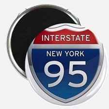 Interstate 95 - New York Magnet
