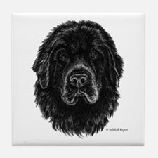 Newfie Tile Coaster