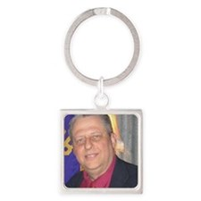 campaign_2012b Square Keychain