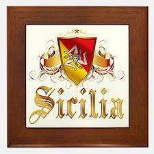 sicilia Framed Tile