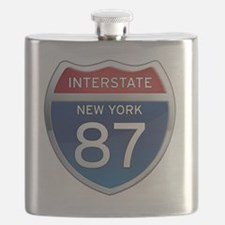 Interstate 87 - New York Flask