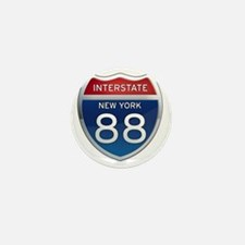 Interstate 88 - New York Mini Button
