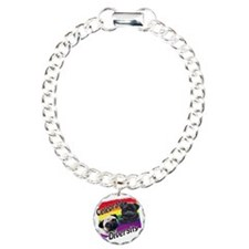 Celebrate Diversity Gay  Charm Bracelet, One Charm