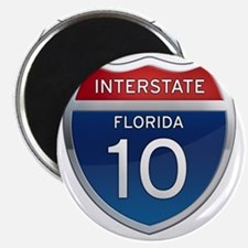 Interstate 10 - Florida Magnet