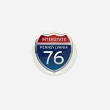 Interstate 76 - Pennsylvania Mini Button