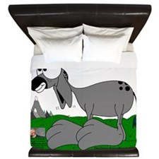 Sixes and Sevens The Burro King Duvet