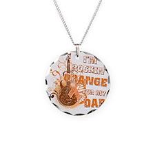 Im Rockin Orange for my Dad Necklace