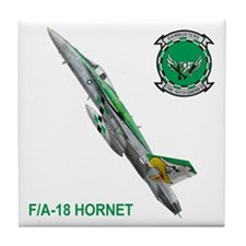 VFA-195 Dambusters Tile Coaster
