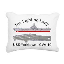 Essex-Yorktown-T-Shirt_f Rectangular Canvas Pillow