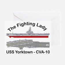 Essex-Yorktown-T-Shirt_front Greeting Card