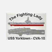 Essex-Yorktown-T-Shirt_front Rectangle Magnet
