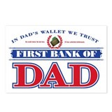 Bank of dad Postcards