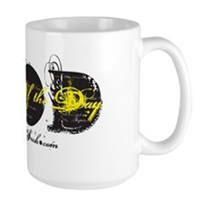 SUPER WOD BLACK - YELLOW Mug