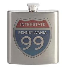 Interstate 99 - Pennsylvania Flask