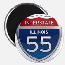 Interstate 55 - Illinois Magnet