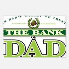 The Bank of Dad Postcards (Package of 8)