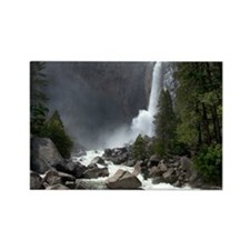 Lower Yosemite Falls Rectangle Magnet