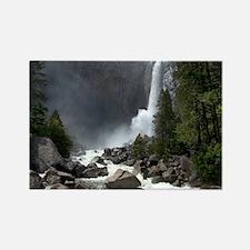 Lower Yosemite Falls Rectangle Magnet