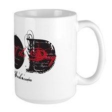 SUPER WAD BLACK - RED Mug