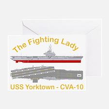 Essex-Yorktown-T-Shirt_Large_Transpa Greeting Card