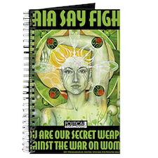 WAR WOMEN GAIA 8.5x11 Journal