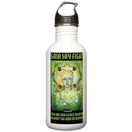 WAR WOMEN GAIA 11x17 Stainless Water Bottle 1.0L