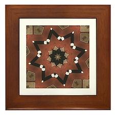 TERRACOTTA STAR Framed Tile