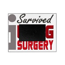 isurvived-lungsurgery Picture Frame
