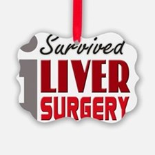 isurvived-liversurgery Ornament