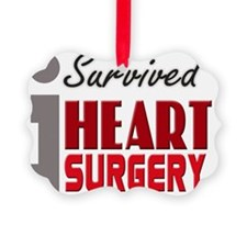 isurvived-heartsurgery Ornament