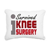 Knee replacement surgery Rectangle Canvas Pillows