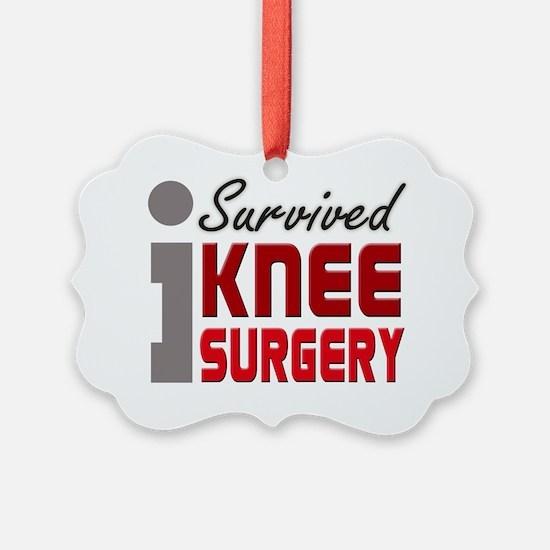 isurvived-kneesurgery Ornament