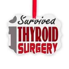 isurvived-thyroidsurgery Ornament