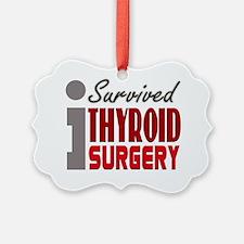 isurvived-thyroidsurgery Ornament