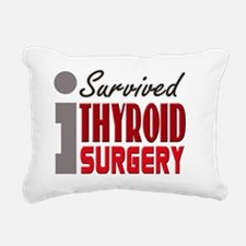 isurvived-thyroidsurgery Rectangular Canvas Pillow