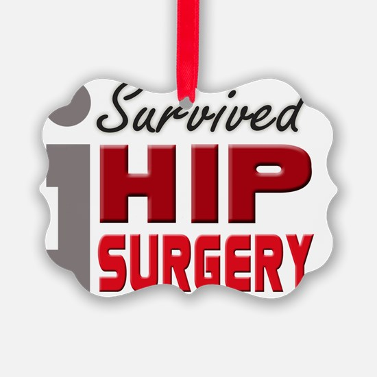 isurvived-hipsurgery Ornament