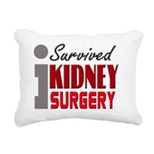 isurvived-kidney Rectangular Canvas Pillow