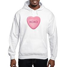 XOXO candy heart Hoodie
