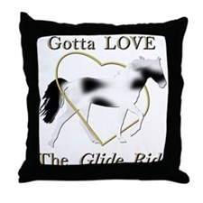 SSH Gotta Love the Glide Ride Throw Pillow