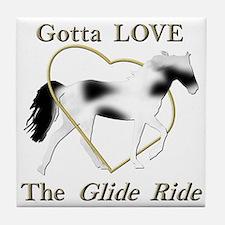 SSH Gotta Love the Glide Ride Tile Coaster