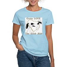 SSH Gotta Love the Glide Ride Women's Pink T-Shirt