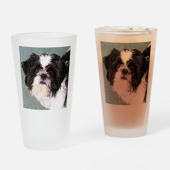 Teddy Drinking Glass